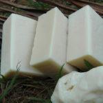 barras de sabonete artesanal elaborados especificamente para o cabelo