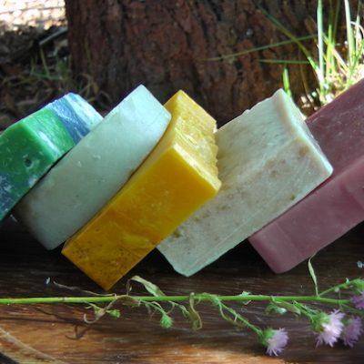 cores sabonete